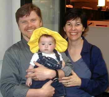 robert, ana maria & babysmall